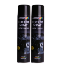 Motip Cockpitspray Silicone Based High Gloss Spuitbus 600ML