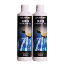 Motip super shampoo & Wax fles 500 ml