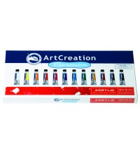 Acrylverf assortimentsdoos Art Creation 12 tubes 12ml