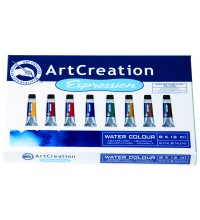 Aquarelverf assortimentsdoos Art Creation 8 tubes 12ml