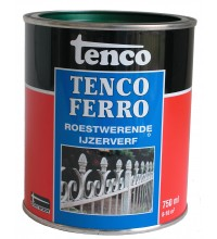 Tencoferro ijzerverf 750ML